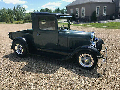 1929 Ford Model A  1929 Model A pick up hot rod all Henry Ford Steel 350 SBC