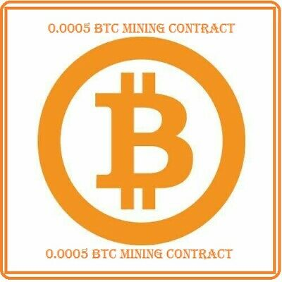 Mining Contract 24 Hours (bitcoin) Processing Speed (TH/s) 0.0005 BTC