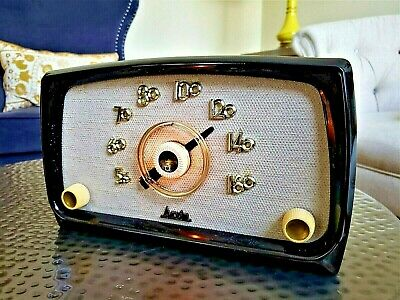 SERVICED Antique Vintage 1950's ARVIN Classic tube Tube Radio - Works Perfect