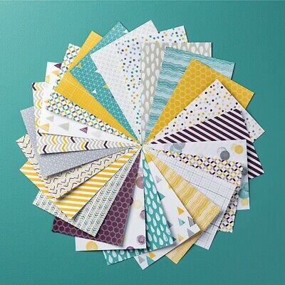 "Stampin Up! Paper share ~ Moonlight DSP 12 pack of 6"" x 6"" paper"