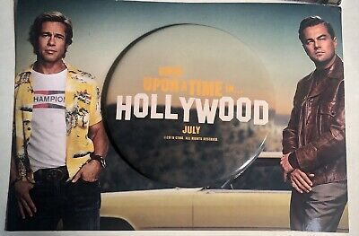 Once Upon A Time In Hollywood (2019) Collectible Pin On Mini Poster Tarantino