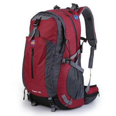 40L Waterproof Climbing Hiking Backpack Outdoor Travel Luggage Military Bag