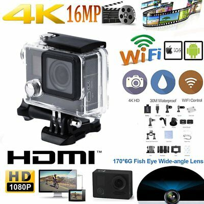 4K WiFi DV Action Sports Waterproof fpv Camera Video Camcorder for Firefly 6S