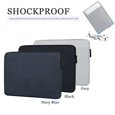Shockproof Notebook Case Sleeve Laptop Bag Cover For MacBook HP Dell Lenovo YB