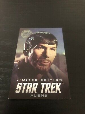 Dave & Busters Star Trek Aliens Cards Foiled Special Edition