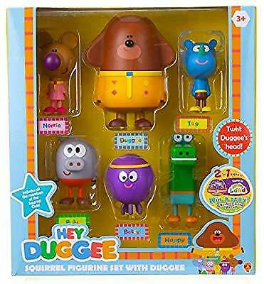 NEW Hey Duggee Squirrel Figurine Set with Duggee