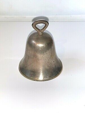 Vintage or Antique Silver Plated Bell by RAIMOND SHEFFIELD epns