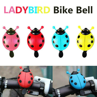 R SODIAL Gold Tone Red Hatted Cartoon Boy Design Alloy Housing Bike Bicycl J4P6