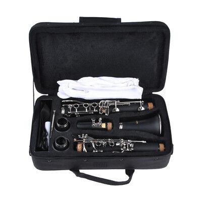FREE SHIPPING! Bb INTERMEDIATE CONCERT BAND & ORCHESTRAL CLARINET PRESENT GIFT