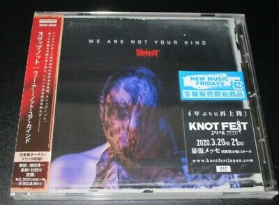 Slipknot We Are Not Your Kind With Bonus Track Japan 2019 Cd