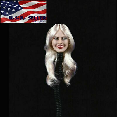 1/6 Suicide Squad Harley Quinn Head Sculpt Expression For Hot Toys PHICEN  ❶USA❶