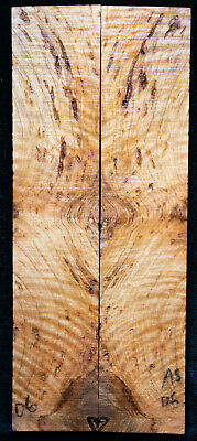 """Asian Satinwood Burl #06 Knife Scales 7""""x1.4""""x 5/16"""""""