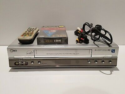 LG GC990W 6 Head VHS Player - Fully Tested