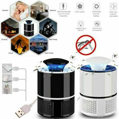 Electric Anti Mosquito Killer Lamp LED Pest Catcher Repeller Mosquito Trap Light