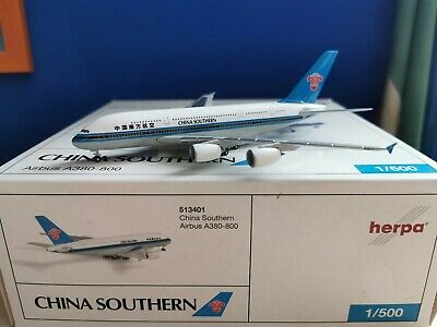 Neu China Southern Airlines Herpa 530149-1//500 Boeing 737-800