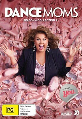 DANCE MOMS - SEASON 4 COLLECTION 1   -  DVD - UK Compatible - New & sealed