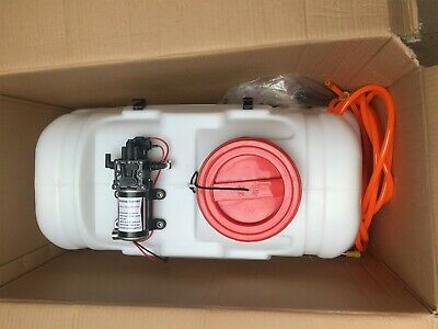 50L ATV Weed Crop Sprayer Tank Pump and Hose Only