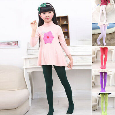 Baby Pantyhose Student Children Kids Girl Dance Socks Ballet Tights Candy Color