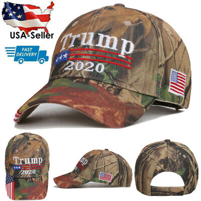 Donald Trump 2020 Keep Make America Great Again Mesh Cap Embroidered Hat USA