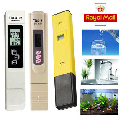 Electric Digital PH TDS EC Meter Tester Water Hydroponics Aquarium Pool Test Pen