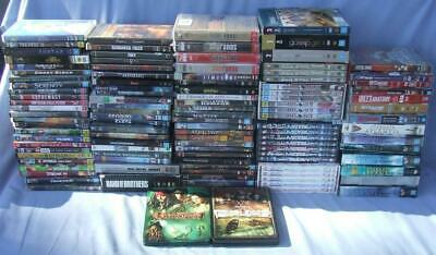 Bulk Lot Dvds Movies Used (Can Post)