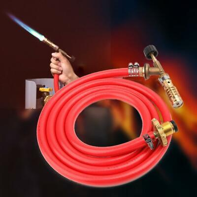 PROPANE LPG GAS Heating Burner Torch With Gas Hose & 2