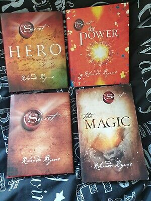 The Secret,The Power & Hero by Rhonda Byrne (Hardback) and The Magic (paperback)