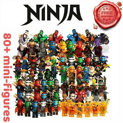 LeGOinGLy Ninjago Action Figure Golden Ninja Heroes Minifigures Motorcycle Toys
