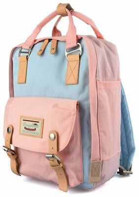 Goldwheat School Backpack Laptop Bag For Teen Girls Waterproof Bookbag College B