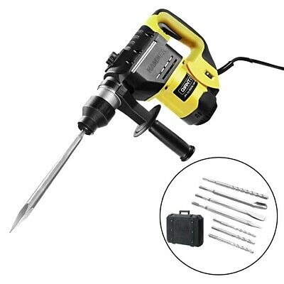 1800W Jack Hammer Electric Jackhammer Concrete Drill Demolition Rotary 0-4000Bpm