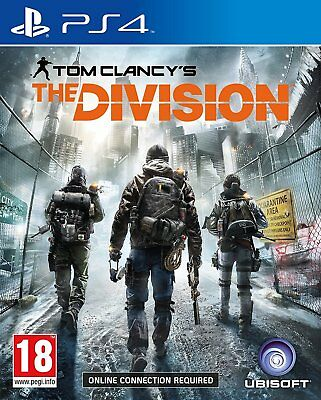 THE DIVISION PS4 Game PlayStation 4 PAL Fast Post UK