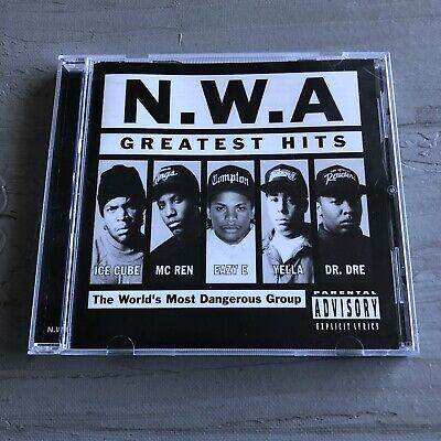 N.W.A Greatest Hits CD Rap Hip Hop Eazy-E Ice Cube Dr Dre MC Ren Yella NWA