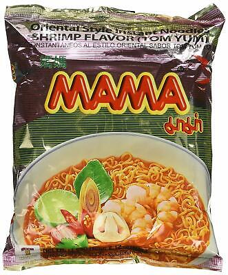 30 2.12Oz Packages Mama Tom Yum Flavour Instant Noodles (Shrimp Flavored)