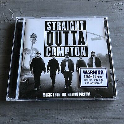 Straight Outta Compton Soundtrack Rap Hip Hop Ice Cube