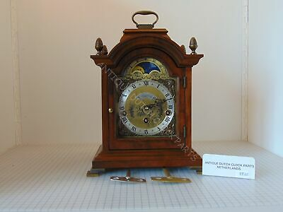 Dutch Walnut Warmink Westminster Table Clock