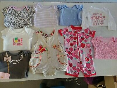 The Childrens Place Baby Girl lot 0-3
