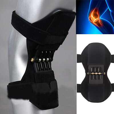 Patella Booster Spring Knee Brace Support for Mountaineering Squat Running Sport