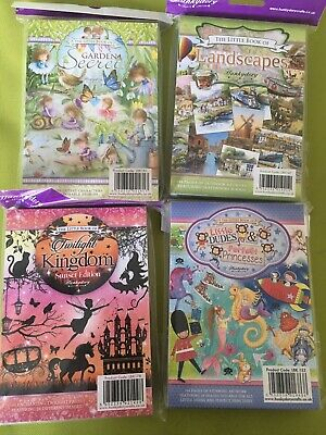 Hunkydory Little Book Bundle. 576 Toppers In Total