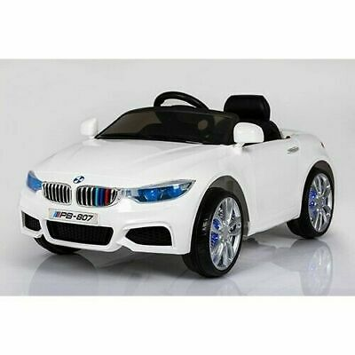 BMW M240i Style - 12V Kids Electric Ride On Car Battery Powered White