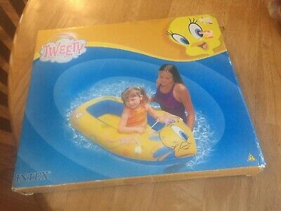 Tweety Bird Pool Boat Looney Tunes By Intex
