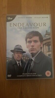 Endeavour: Pilot Film And Complete Series 1 & 2 Dvd. Region 2. (Watched Once.)