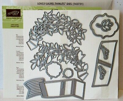 STAMPIN' UP! SIZZIX Dies Framelits Edgelits Thinlits - Used