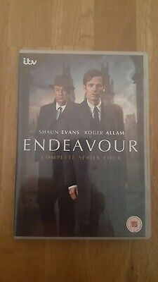 Endeavour Dvd Complete  Series  4. Watched Once. Like New.