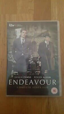 ENDEAVOUR Complete Series 5 DVD. LIKE NEW. (Watched once.)