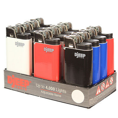 "12 x Djeep ""CLASSIC"" Lighters, Original, Brand New, Same Day Express Shipping"