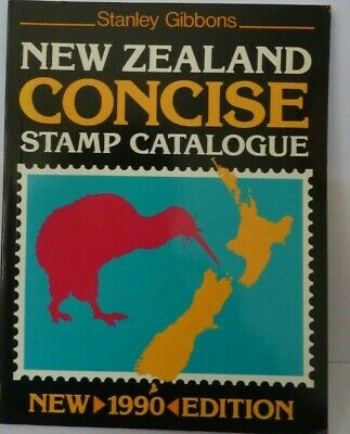 Stanley Gibbons NEW ZEALAND Concise Stamp Catalogue