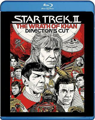 Star Trek 2 - The Wrath Of Khan (Director's Cut)  Blu-Ray   Brand new and sealed