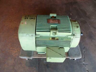 GE General Electric 30 Hp Elect. Motor Frame 326TSC 1185 Rpm TEFC Used