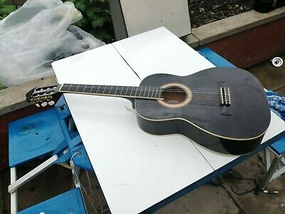 Ashton SPCG34-BK Acoustic Guitar.