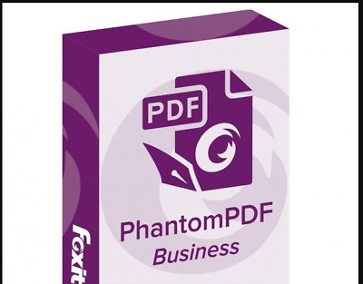 Foxit PhantomPDF Business 9.6  🔑 Lifetime Activated 🔥 Instant Delivery 📥